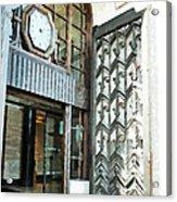 The Entranceway To Unilever House  Acrylic Print