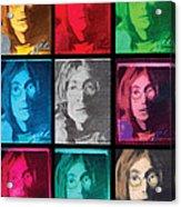 The Essence Of Light- John Lennon Acrylic Print