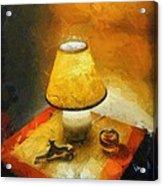 The Evening Lamp Acrylic Print