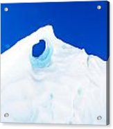 The Eye Of The Glacier Acrylic Print