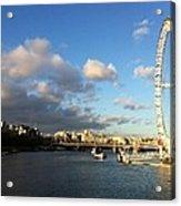 The Eye Over Thames Acrylic Print