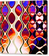 The Fabric Of Time Acrylic Print