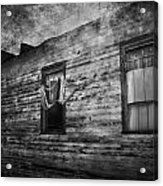 The Facade  Acrylic Print