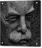 The Face Acrylic Print