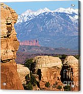 The Face Of Arches Acrylic Print