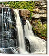 The Face Of The Falls Acrylic Print