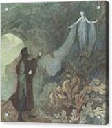 The Fairy Appearing To The Prince Acrylic Print by Warwick Goble
