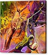 The Fall Acrylic Print