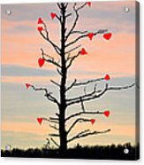 The Fall Of Love Acrylic Print
