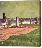 The Farm In Lancaster Acrylic Print