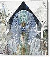 The Faroah Of Funkadelphia Acrylic Print by Douglas Fromm