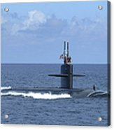 The Fast Attack Submarine Uss Salt Lake Acrylic Print