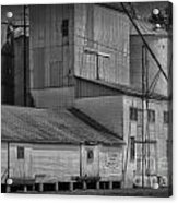 The Feed Mill Acrylic Print by Tamera James