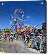 The Ferris Wheel At The Fair Acrylic Print