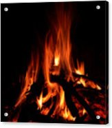 The Fire Acrylic Print