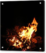 The Fire Inside Acrylic Print