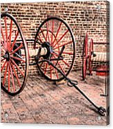 The Firehouse Acrylic Print by JC Findley