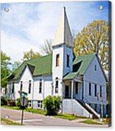 The First Christian Church Of Harriman 2 Acrylic Print