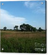 The First Homestead Acrylic Print