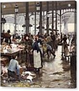 The Fish Hall At The Central Market  Acrylic Print