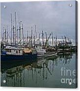 The Fishing Fleet Acrylic Print