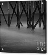 The Fishing Pier Acrylic Print
