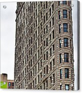 The Flat Iron Building Acrylic Print