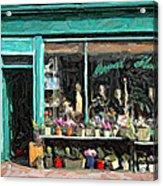 The Flower Shop Acrylic Print