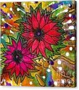 The Flowers In My Son's Garden Acrylic Print