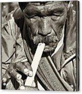 The Flute Acrylic Print by Skip Nall