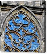 The Folly Of Windows In Prague Acrylic Print by Christine Till