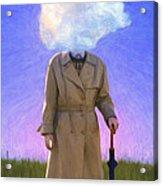 The Fool On The Hill Acrylic Print