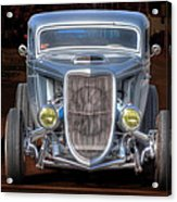 The Ford Grill Acrylic Print