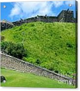 The Fortress At St. Kitts Acrylic Print
