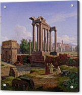 The Forum Rome  Acrylic Print
