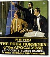 The Four Horsemen Of The Apocalypse Acrylic Print