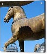 The Four Horses Of St Mark's  Acrylic Print
