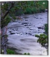 The Frozen Snake River Acrylic Print