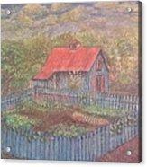 The Garden Barn At Callaway Gardens Acrylic Print