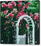 The Garden Gate Acrylic Print