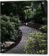 The Garden Path Acrylic Print