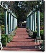 The Garden Walk Acrylic Print