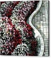 The Garden's Edge Acrylic Print