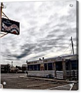 The Gateway Diner - Trooper Pa Acrylic Print