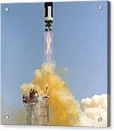 The Gemini-titan 4 Spaceflight Launches Acrylic Print