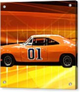 The General Lee Acrylic Print