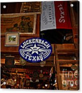 The General Store In Luckenbach Tx Acrylic Print