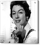 The Girl Rush, Rosalind Russell, 1955 Acrylic Print by Everett