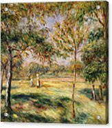 The Glade Acrylic Print by Pierre Auguste Renoir