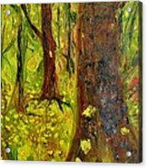 The Golden Forest Acrylic Print